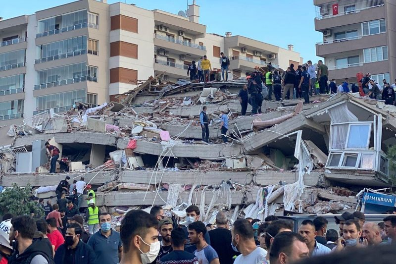 Greek PM Calls Erdogan to Offer Condolences Over Earthquake; France Offers Help to Turkey & Greece