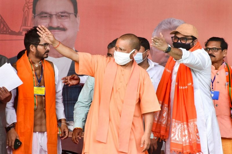 Yogi Adityanath at Bengal Rally